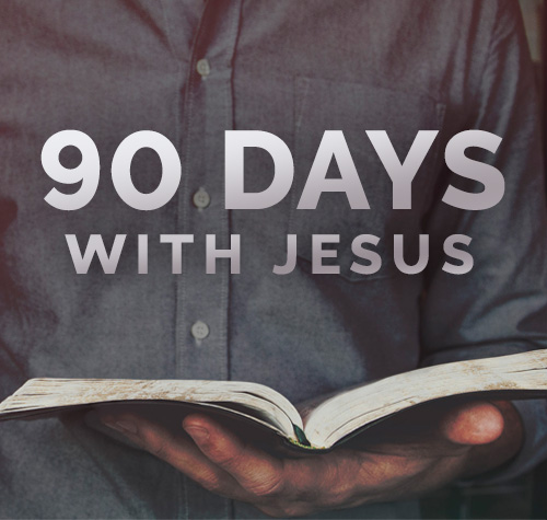 16. 90 Days With Jesus: The Key to Life