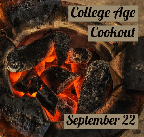 College Age Cookout