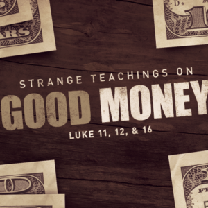 2. Good Money: Laundering Money